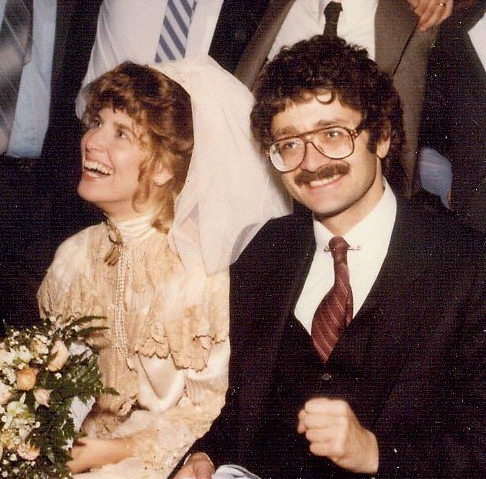 cropped at our wedding reception 1-27-85